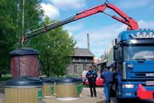 мусоровозы с системой уплотнения